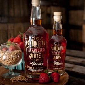 Pennington's++Strawberry+Rye+Whiskey+|+SPEAKeasy+Spirits,+Nashville,+TN