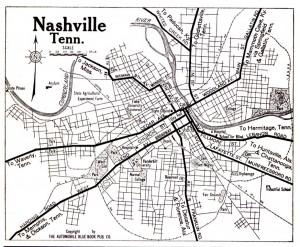 nashville historic map