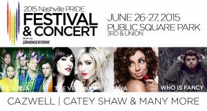 Pride lineup