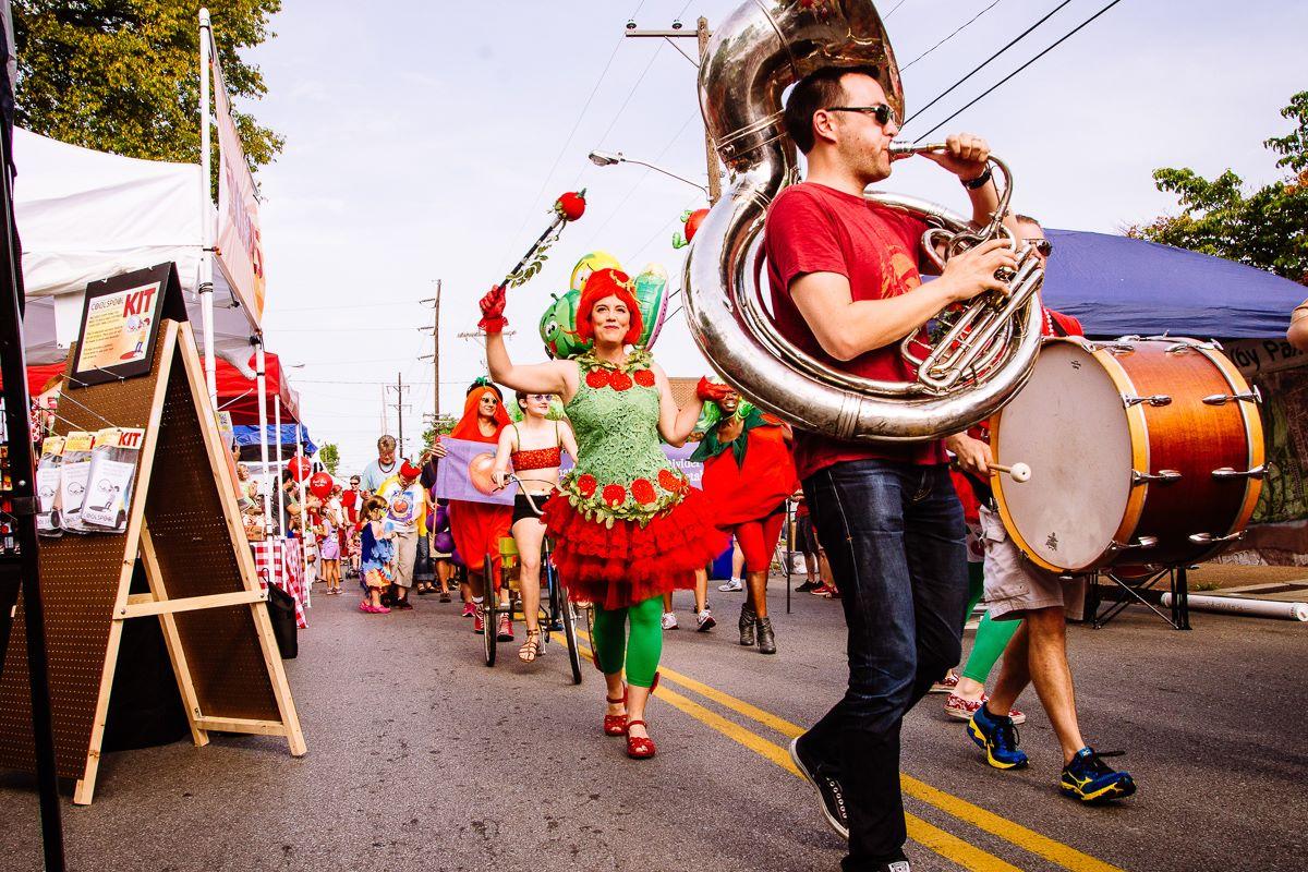 Tomato parade