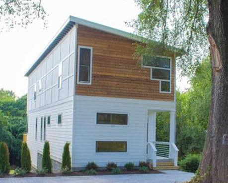 Modern Architecture Nashville Tn 5 modern nashville homes we love, on the market now | ashley