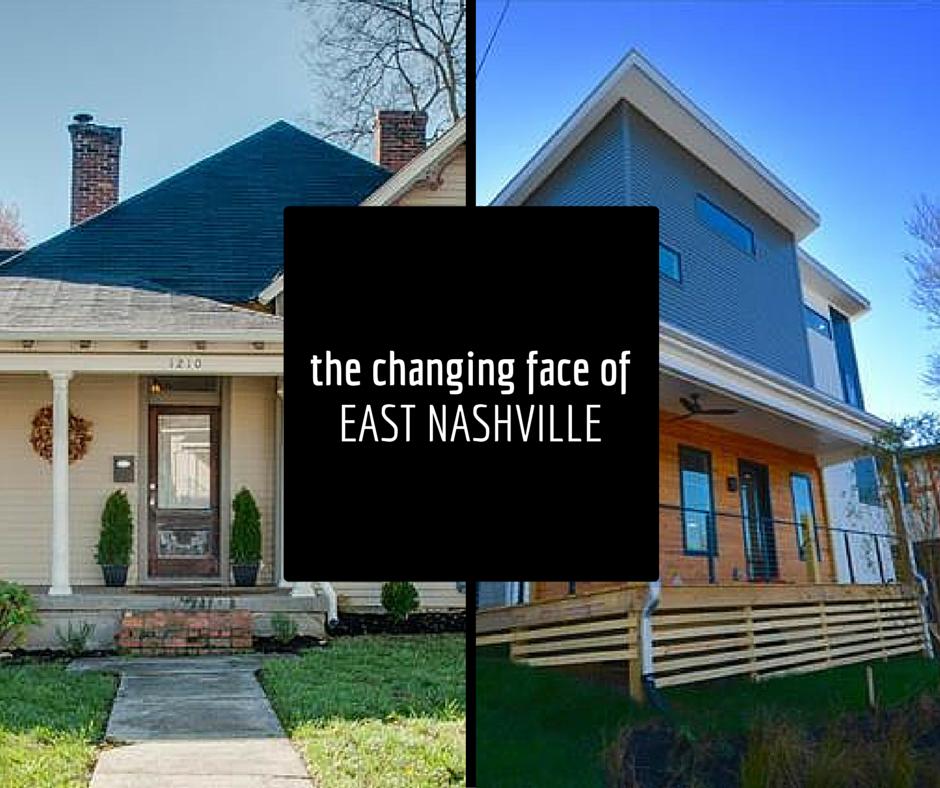 changing face of east nashville