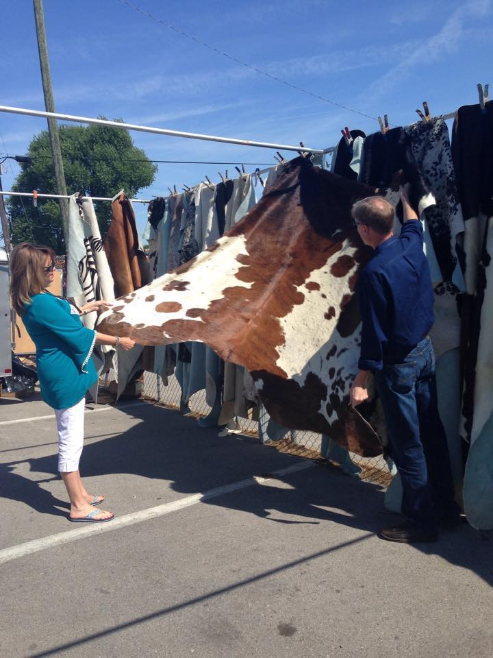 Nashville flea market rugs