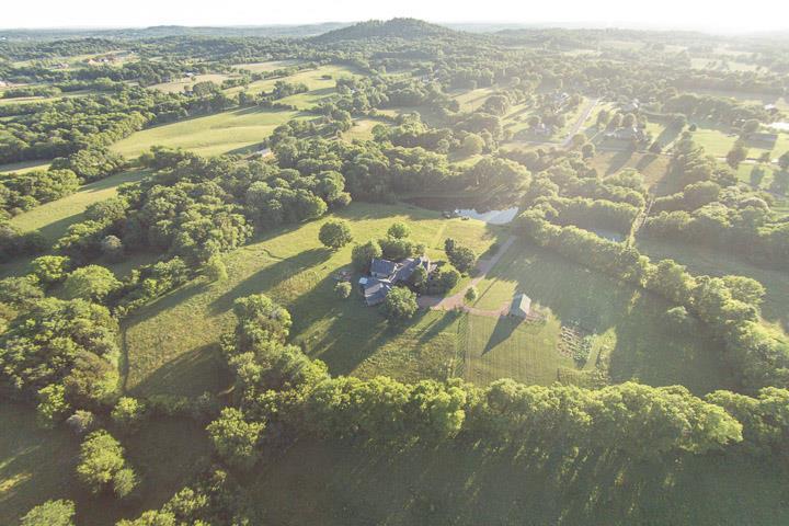 Frog Hollow Farm aerial