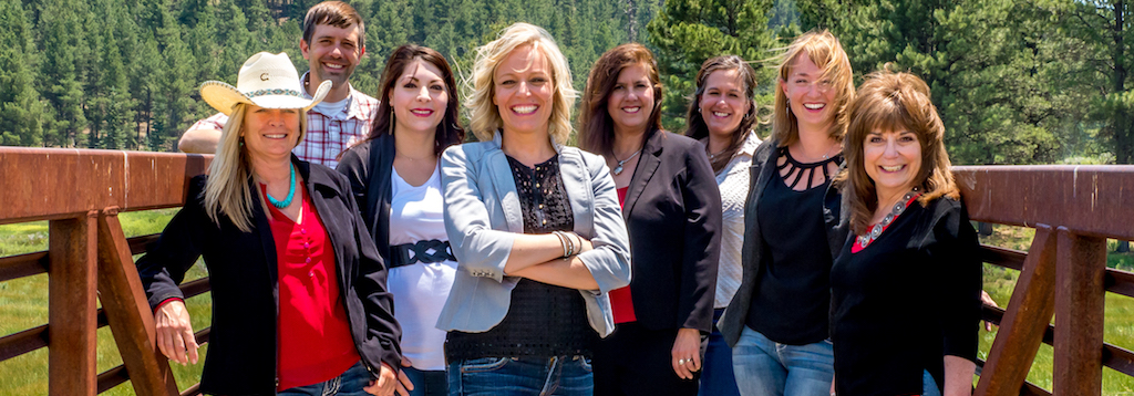 Team photo Chisum Realty Group Angel Fire New Mexico