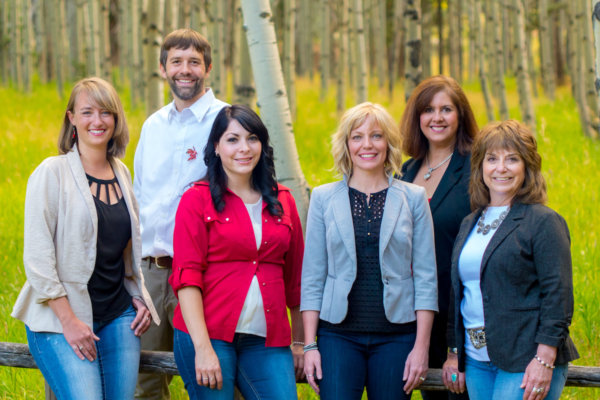 Full size team photo of Keller Williams Reality Angel Fire New Mexico