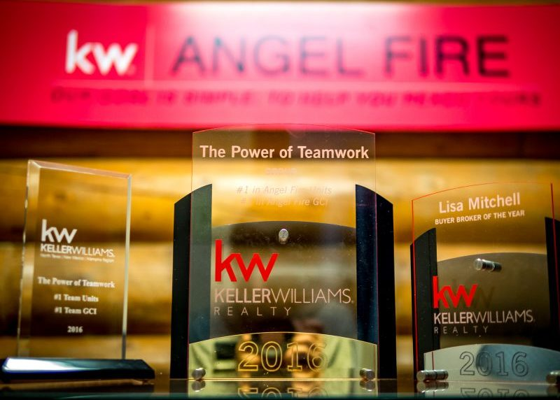 Take home many awards from Keller Williams for the best Real Estate team in New Mexico