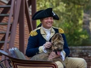 """George Washington"" with Liberty"