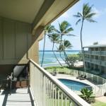 Kailani condo kauai eastside wailua kapaa investment 1031 rental cashflow oceanfront view ocean view 3br 2br granite