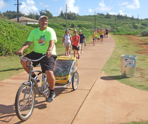 Mayor rides Kapaa real estate kauai path east site wailua anahola homes for sale condo