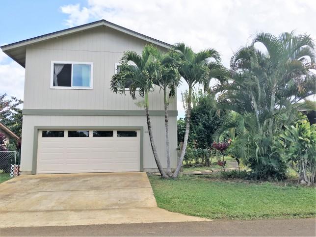 4445 Hookui Kilauea Home For Sale on Kauai oversized corner lot large garage 14