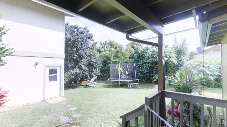 4445 Hookui Kilauea Home For Sale on Kauai oversized corner lot large garage 167