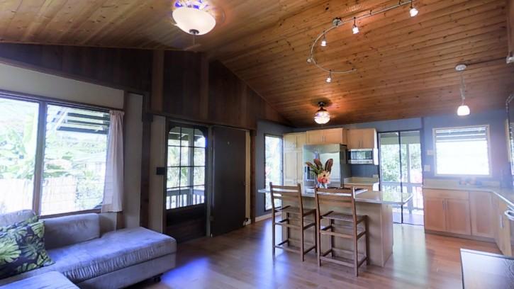 4445 Hookui Kilauea Home For Sale on Kauai oversized corner lot large garage 169