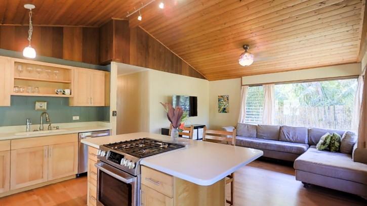 4445 Hookui Kilauea Home For Sale on Kauai oversized corner lot large garage 1699