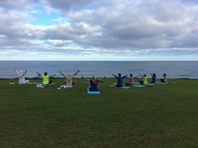 Wellness meditation yoga Kauai North Shore