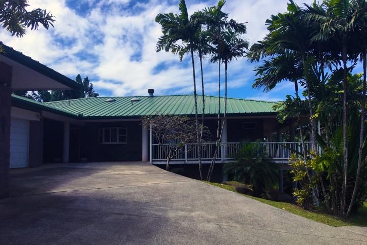 Kapaka Princeville Home For Sale Kauai North Shore Lanai Driveway