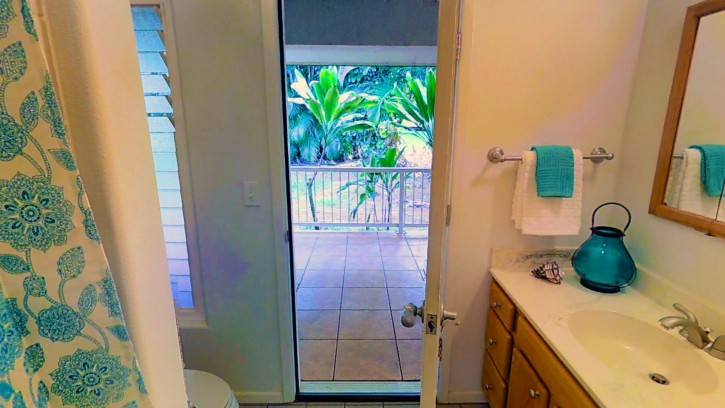 Kapaka Princeville Home For Sale Kauai North Shore Lanai Guest Bath
