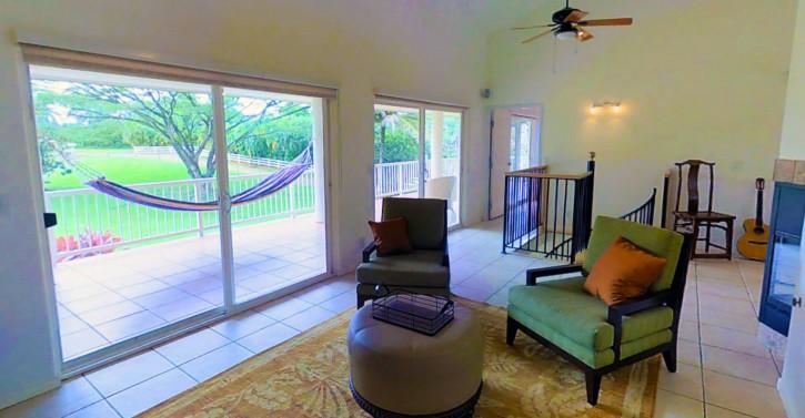 Kapaka Princeville Home For Sale Kauai North Shore Lanai Hammock Living
