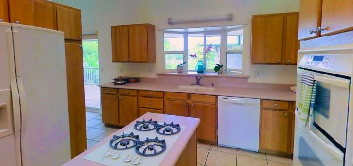 Kapaka Princeville Home For Sale Kauai North Shore Lanai Kitchen