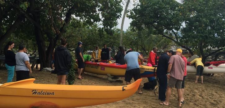 Hawaiian Outrigger Canoe Society 2016 Ke ei'ei' Waho