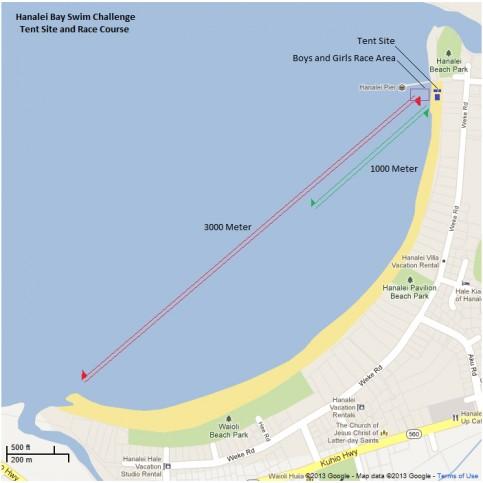 Hanalei Bay Swim Challenge