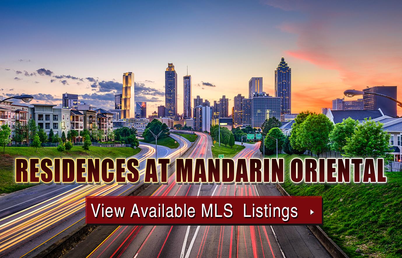 Residences at Mandarin Oriental Condos For Sale