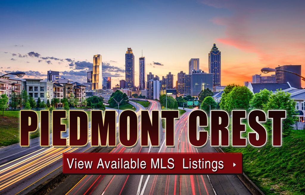 Piedmont Crest Condos Atlanta