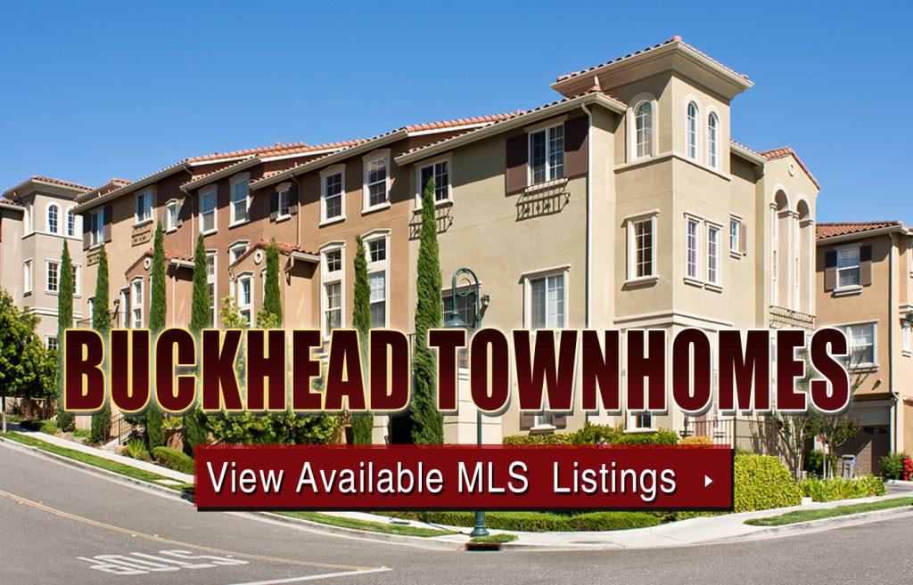 Buckhead Townhomes For Sale Atlanta
