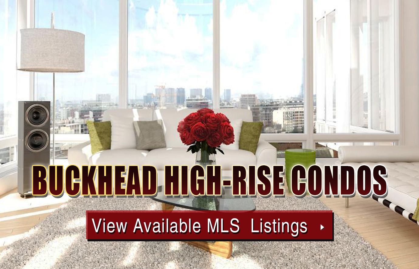 Buckhead High Rise Condos For Sale