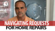 Q: How Do You Navigate Repair Requests?