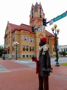 Whitner Street statue