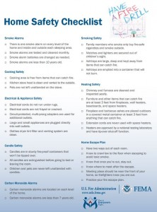 Use these fire safety tips from the Federal Emergency Management Agency (FEMA) to keep your family safe