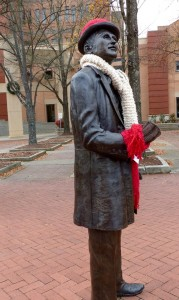 Anderson has several beautiful statues in its downtown area