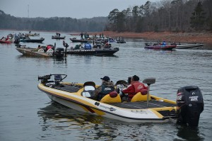 The FLW participants will compete at Lake Hartwell in Anderson, SC