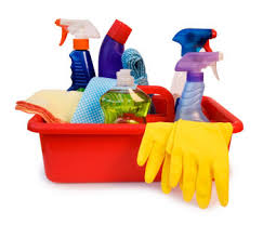 You can use a variety of products to help you with your spring cleaning