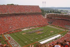 The Clemson Tigers will face the Louisville Cardinals on ABC tomorrow night
