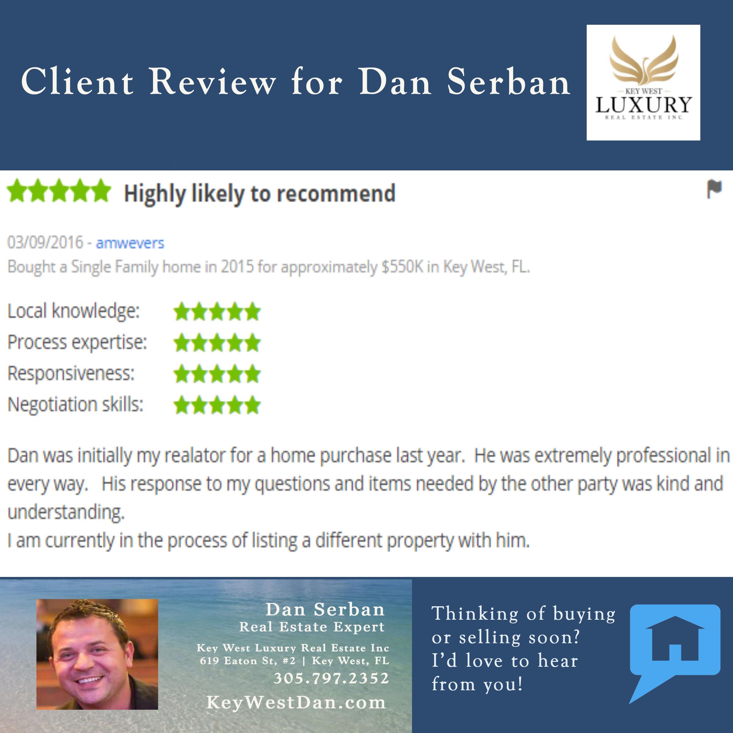 Dan Serban | Key West Luxury Real Estate Inc | 305.797.2352 | Key West, FL |   KeyWestDan.com
