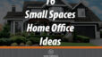 Small-Space Home Offices