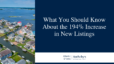 What You Should Know About Increase in New Listings