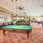 Billiards Room in a Sun City Clubhouse