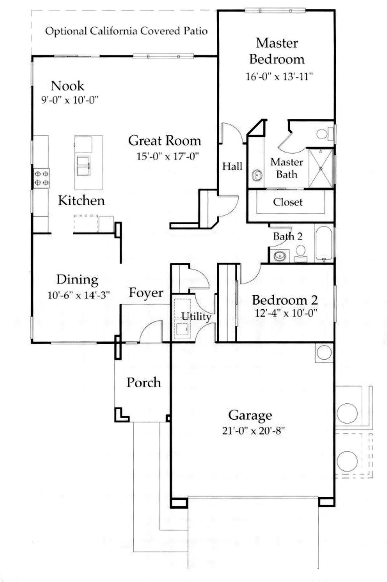 Cayman Model Floor Plan