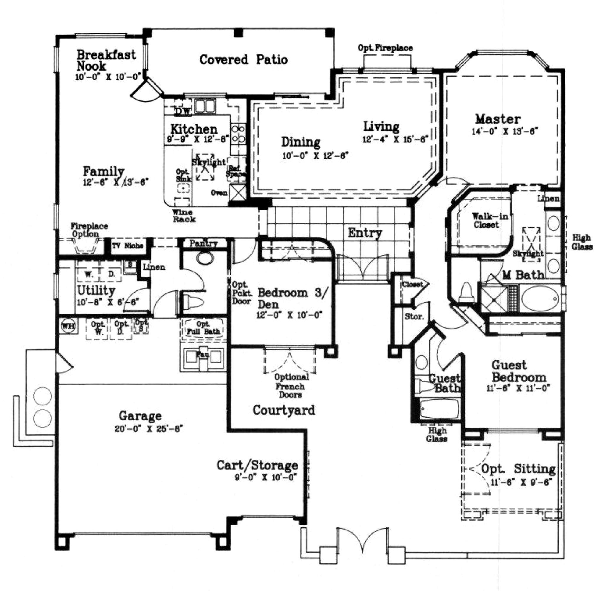 Emerald Model Floor Plan Coachella Valley Area Real Estate The Jelmberg Team