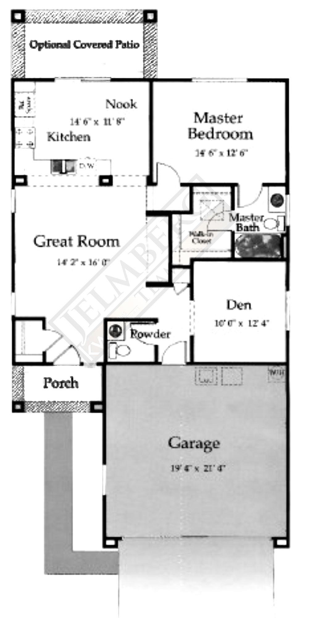 Pasadena Floor Plan