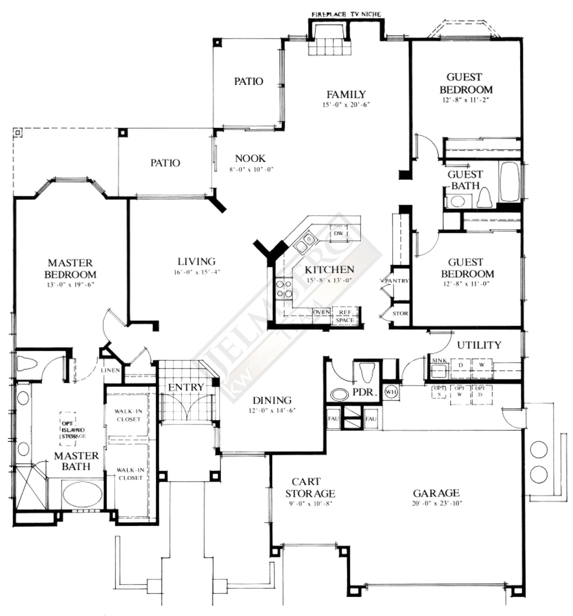 Pave Model Floor Plan Coachella Valley Area Real Estate The Jelmberg Team