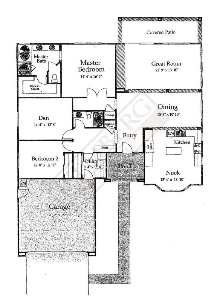 Sonora Floor Plan in Sun City