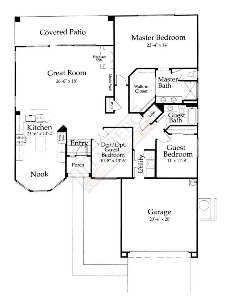 St. Croix Floor Plan in Sun City