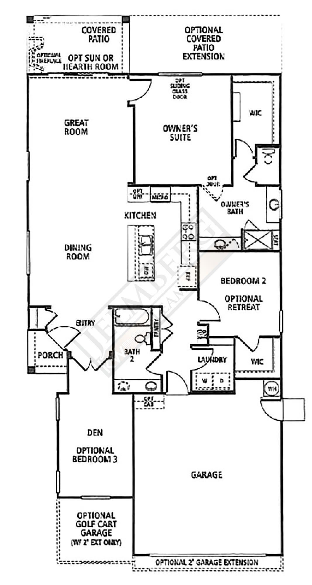 Inspiration Model Floor Plan Sun City Shadow Hills Coachella Valley Area Real Estate The Jelmberg Team