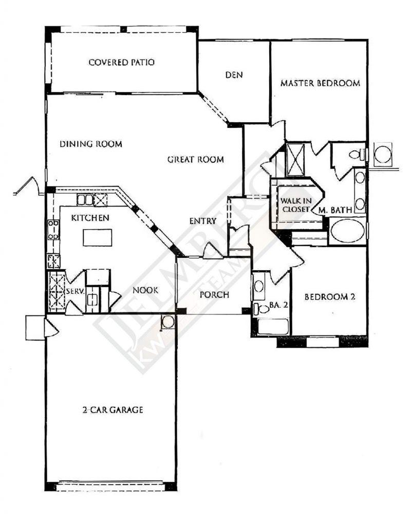 Madera Floor Plan