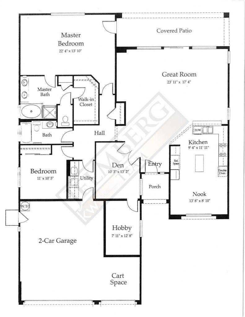 San Benito Floor Plan