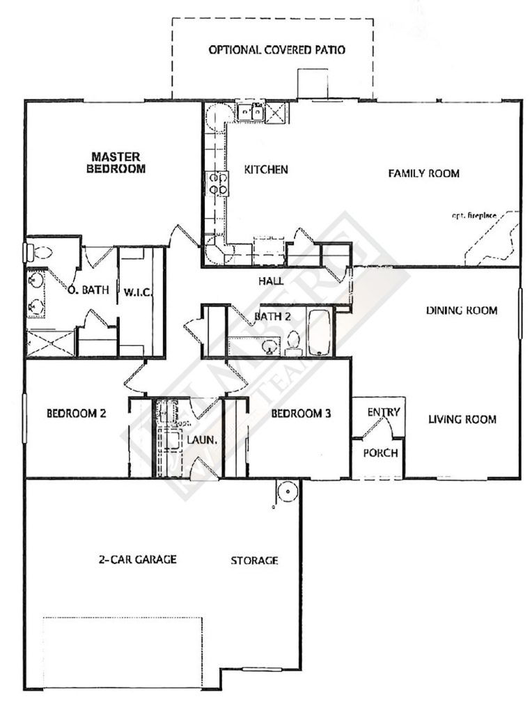 Del Oro Floor Plan